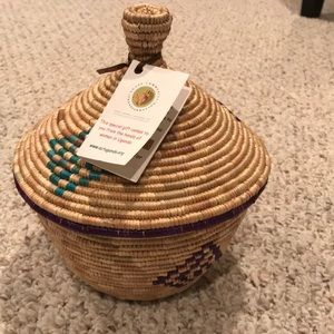 Other - Hand woven basket by women in Uganda.